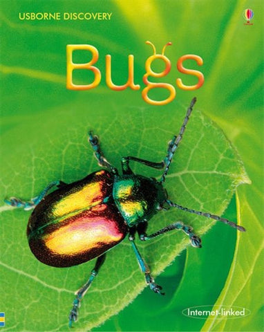 Usborne BUGS Book with Photos of Bug Life Internet Linked