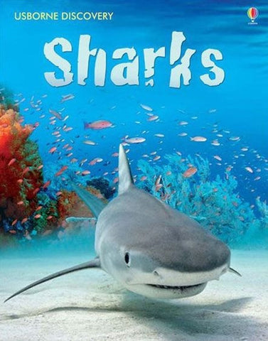 Usborne Book: Internet Linked Discovery: SHARKS