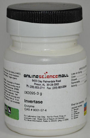 Invertase Enzyme, 3g - Chemical Reagent