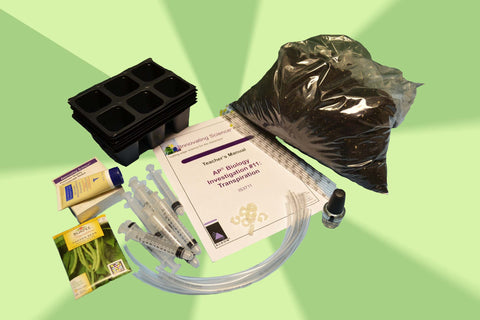 AP Biology Investigation #11: Transpiration Classroom Experiment Kit