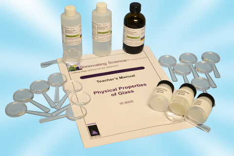 Forensic Chemistry: Physical Properties of Glass Analysis Classroom Kit