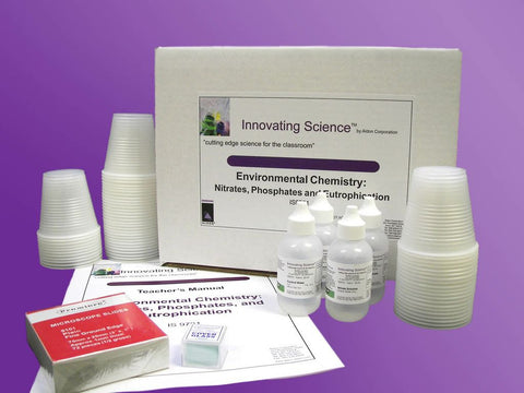 Environmental Chemistry: Nitrates, Phosphates, and Eutrophication Classroom Kit