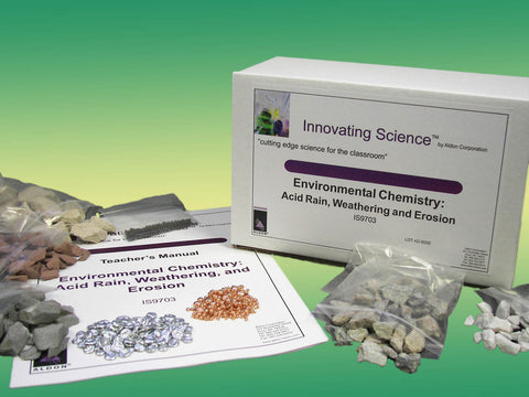 Environmental Chemistry: Acid Rain, Weathering, and Erosion Classroom Kit