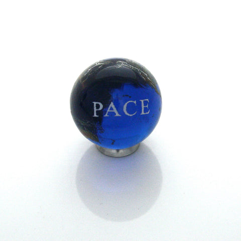 World Peace Earth Marble - Italian - 22mm