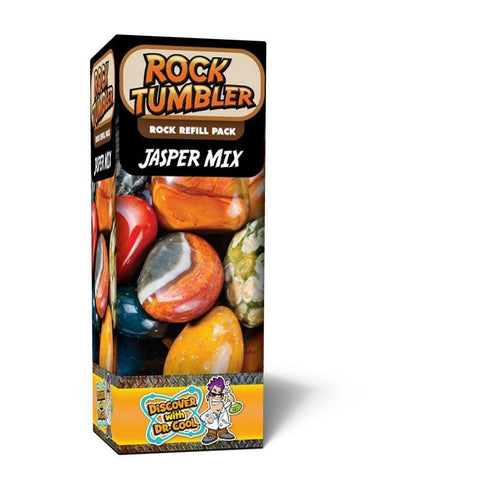 rock tumbler rock refill pack jasper mix by discover with dr