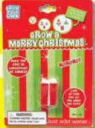Grow A Merry Christmas: PRESENT: Collectible Magic Growing Thing