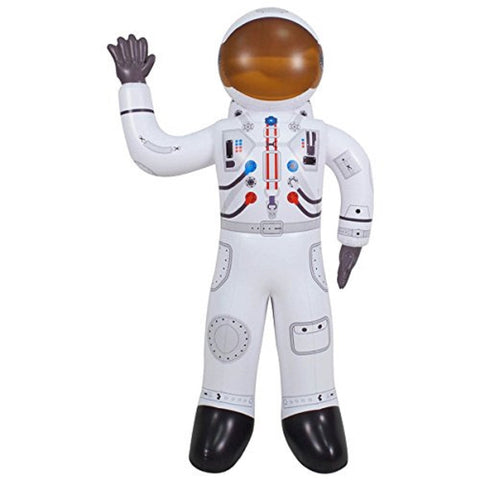 Inflatable Astronaut - 60 Inch Tall Space Traveler Figure