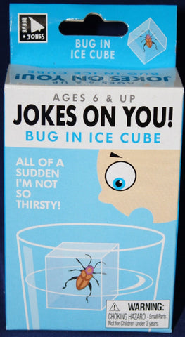 Jokes On You: BUG IN ICE CUBE Prank
