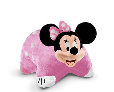 "Disney's Minnie Mouse Jumbo 30"" Folding Plush by Pillow Pets"