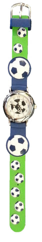 The Kids Watch Company Soccer Watch One Size Blue Band