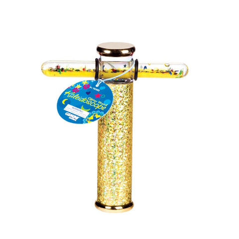 6 Inch Glitter Wand Kaleidoscope Colors Vary