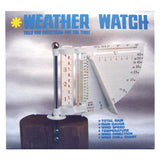 Weather Watch Gauge - Monitor Rain, Temperature & Wind