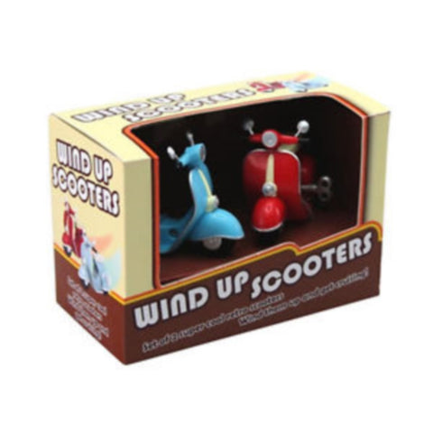 Wind-Up Scooters Set of 2 by Toysmith