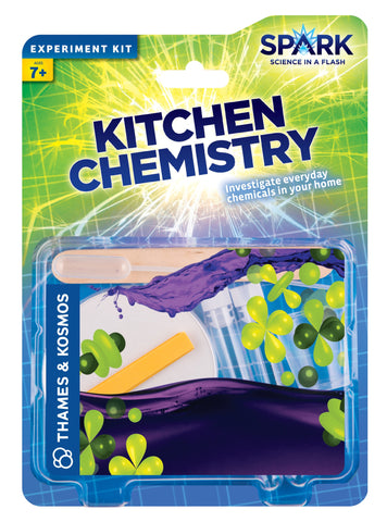 Kitchen Chemistry Experiment Kit By Thames and Kosmos