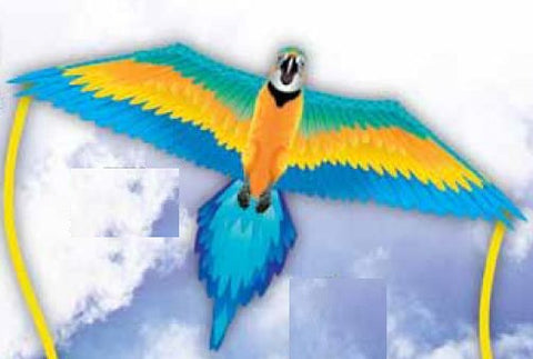 WindnSun Rainforest Macaw Nylon Kite-61 Inches Wide