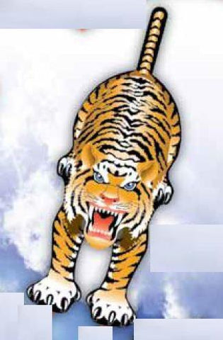 WindnSun SkyZoo Tiger Nylon Kite-59 Inches Tall - Off The Wall Toys and Gifts