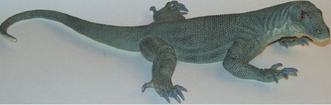 13 Inch Realistic Rubber Lizard Replica - Komodo Dragon - Online Science Mall