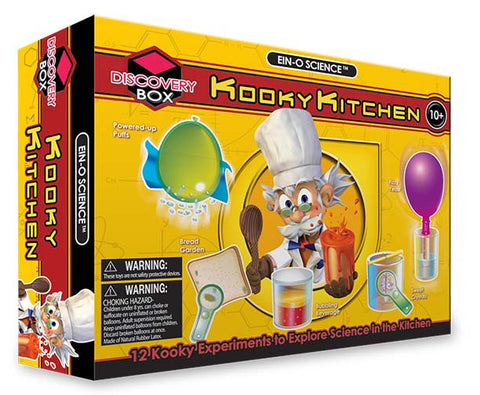 Ein-O Science Kooky Kitchen Experiment Kit