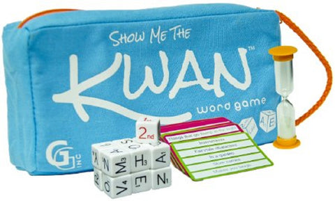 Show Me the Kwan Word Game by Griddly