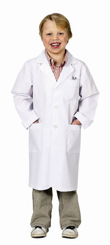Jr. Lab Coat in White - Child Size 6 - 8
