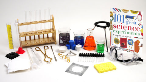 Science Experiment Glass and Labware Set - 31 Pieces