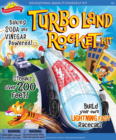 Scientific Explorer's Turbo Land Rocket by Poof-Slinky