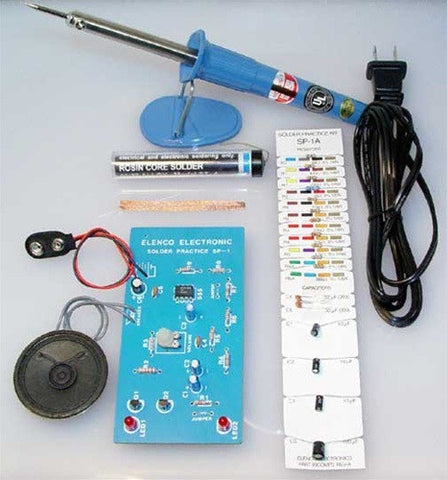 Learn To Solder and Build A Flashing European Siren Kit