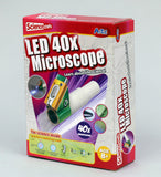 LED 40x Microscope Constuction Kit By Artec