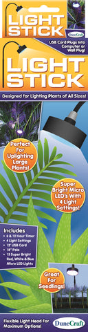 Super Bright LED Plant Light Stick w/Flexible Lamp Head