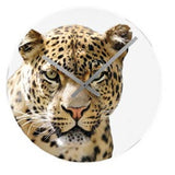Karlsson African Savannah LEOPARD Wall Clock
