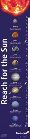 """Reach for the Sun"" Levenhuk Growth Chart - Online Science Mall"