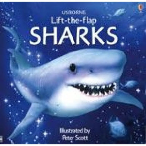 Usborne Lift the Flap Book of SHARKS