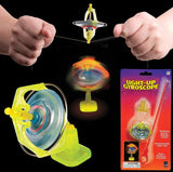Light-Up Gyroscope Stunt Toy LED