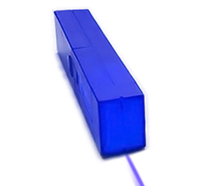 Light Blox - LED Flashlight Light Source for Optic Experiments - Blue