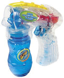 Light Up Electric Bubble Blaster Gun with Scented Bubbles