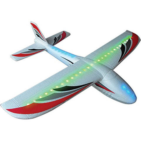 "Lightning Glider w/LED Lights & 20"" Wingspan, by FireFox"