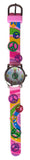 The Kids Watch Company Peace Signs Watch One Size Pink Band