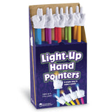 Light Up Hand Pointers - Colors Vary - Pack of 10