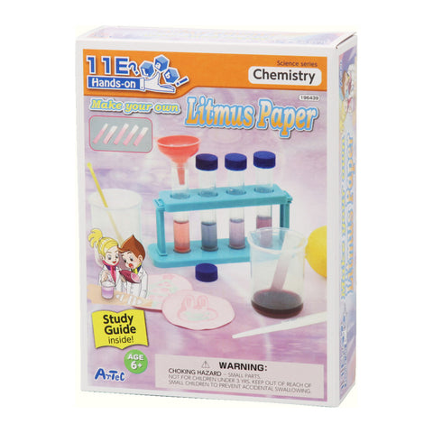 Litmus Paper Making Kit and Study Guide By Artec