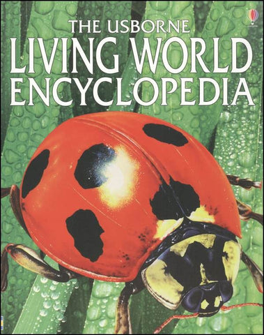 Usborne Book: Living World Enclyclopedia; Softcover