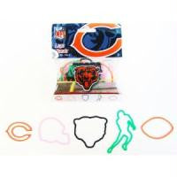 Chicago Bears NFL Logo Bandz licensed Rubber Band Bracelets 20pk