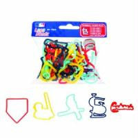 St. Louis Cardinals MLB Logo Bandz licensed Rubber Band Bracelets 20pk