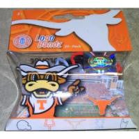 Texas Longhorns Logo Bandz Rubber Bands Licensed 20/pk