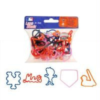 New York Mets MLB licensed Logo Bandz Rubber Bands 20pk