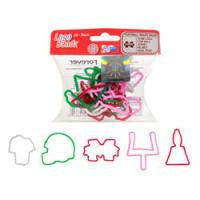 Mississippi Sate Bulldogs Logo Bandz licensed Rubber Bands 20pk