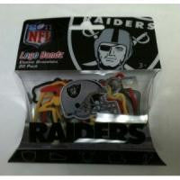 Oakland Raiders Logo Bandz Rubber Band Bracelets 20/pk