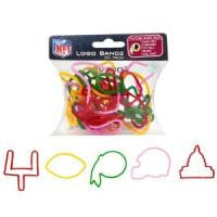 Washington Redskins NFL licensed Logo Bandz Rubber Band Bracelets 20pk