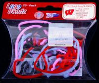 Wisconsin Badgers Logo Bandz licensed Rubber Band Bracelets 20pk