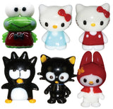 Looking Glass Torch - Hello Kitty Character Assortment 6 Different Miniatures - (6-Pack)