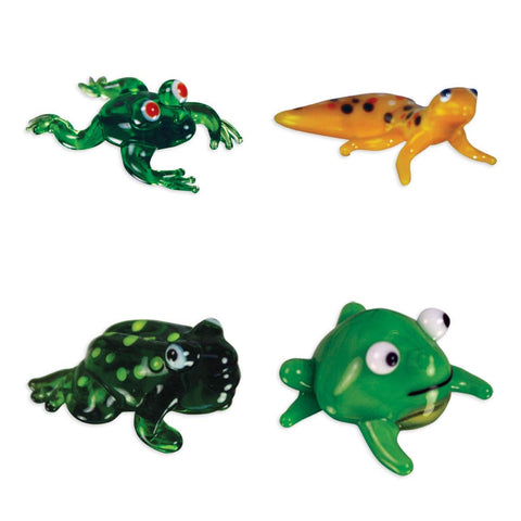 Looking Glass Torch - Reptiles - Froggy, Gecko & 2 Different Toads (4-Pack)